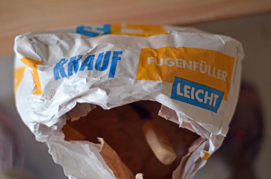 Knauf Fugenfüller leicht - pulverförmiges Spachtelmaterial