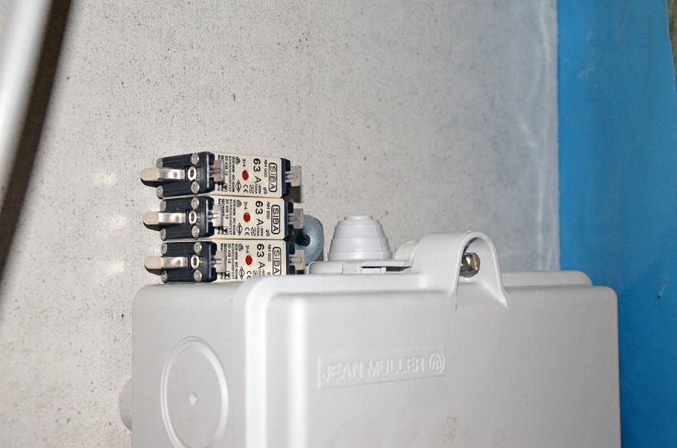 Siba Sicherungen 63 Ampere