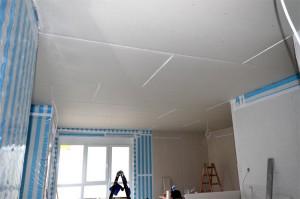 Tag 151 Rigips Decke Wohnzimmer Und Kuche Heim Am Main