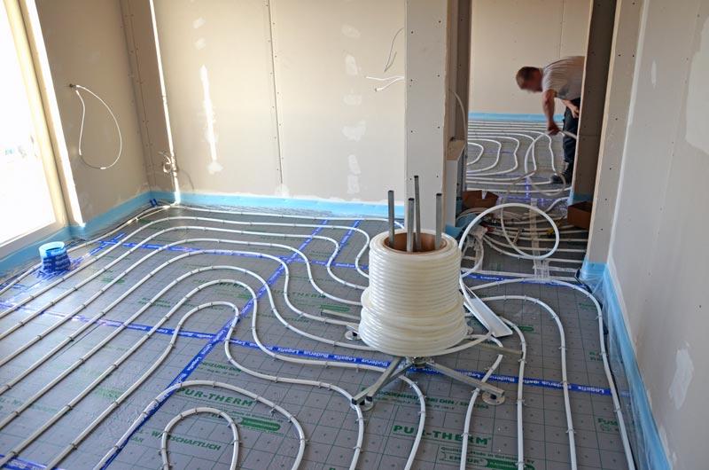 Fußbodenheizung Rohre Verlegen ~ Gästezimmer verlegung fußbodenheizungsrohre u heim am main