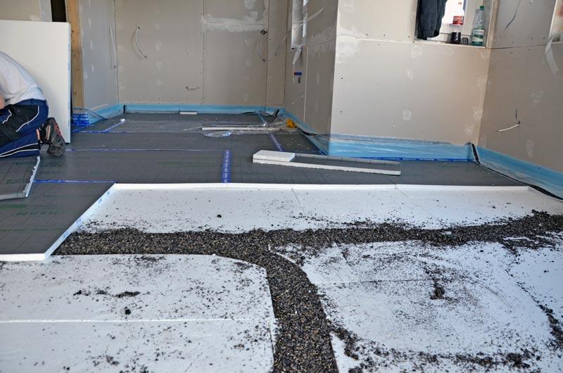 Fußboden Styropor Verlegen ~ Dämmung unter fußbodenheizung fu bodenheizung in der k che f r