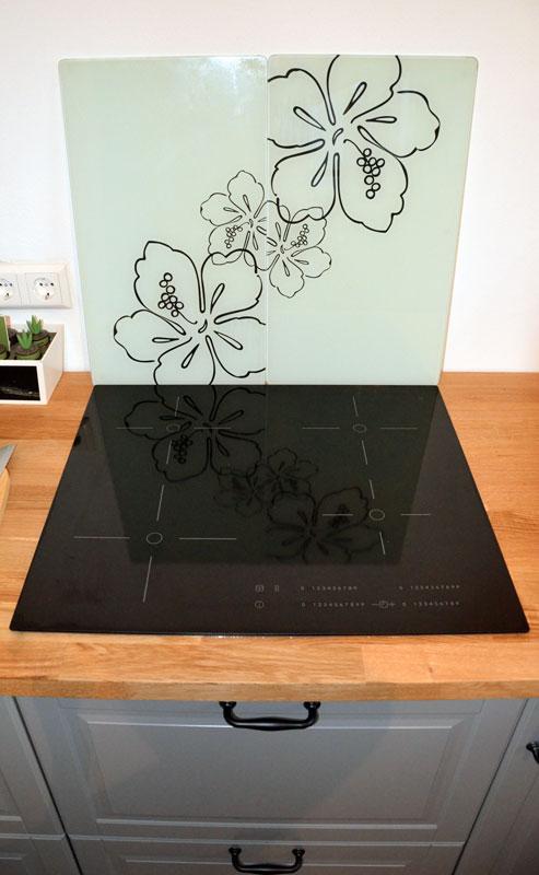 Küche einsatzbereit: Induktions-Kochfeld
