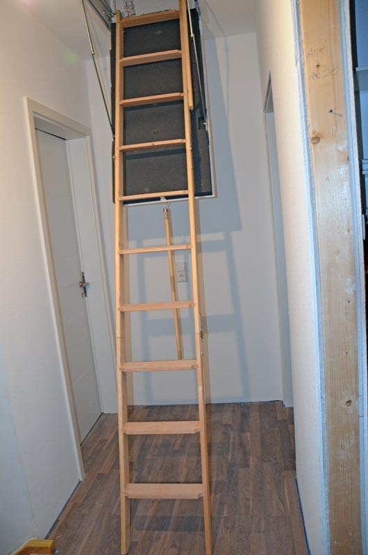 treppenhaus fertig und dachbodentreppe heim am main. Black Bedroom Furniture Sets. Home Design Ideas