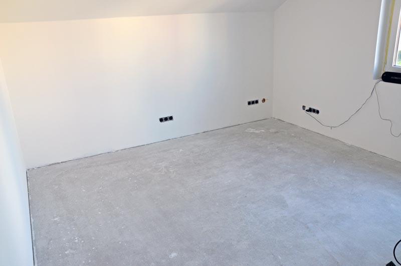 Gästezimmer: Boden gereinigt